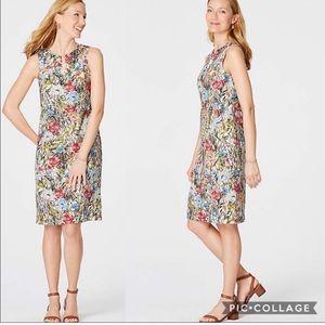 J. Jill love linen garden dress size medium